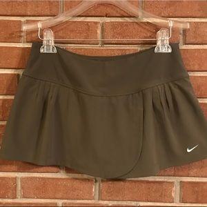 Women's Camo green Nike running/tennis skort